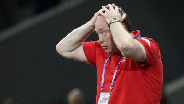 Glavni trener ruske reprezentacije u fudbalu Leonid Slucki - Sputnik Srbija