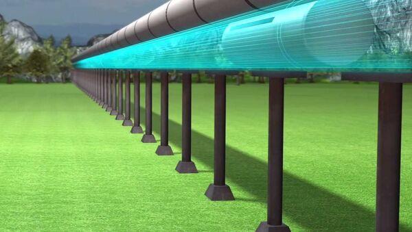Super brzi voz Hyperloop - Sputnik Srbija