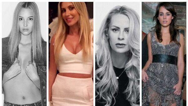 Victoria Varga, Claudine Palmer, Helens Seger, Polly Parsons - Sputnik Srbija
