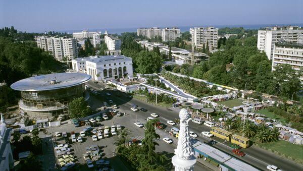 Trg pored železničke stanice u Sočiju - Sputnik Srbija