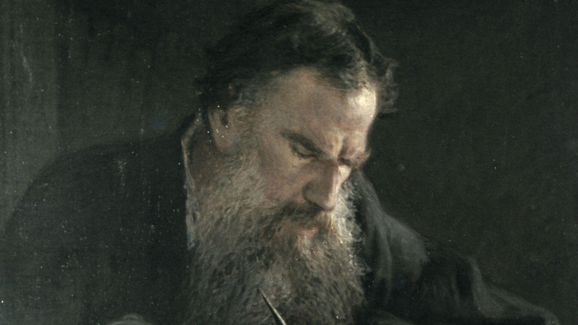 Kartina Ge Lav Tolstoj dok radi - Sputnik Srbija, 1920, 09.09.2021