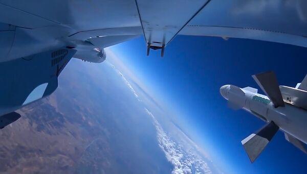 Vazdušno-kosmičke snage Rusije na nebu iznad Sirije - Sputnik Srbija