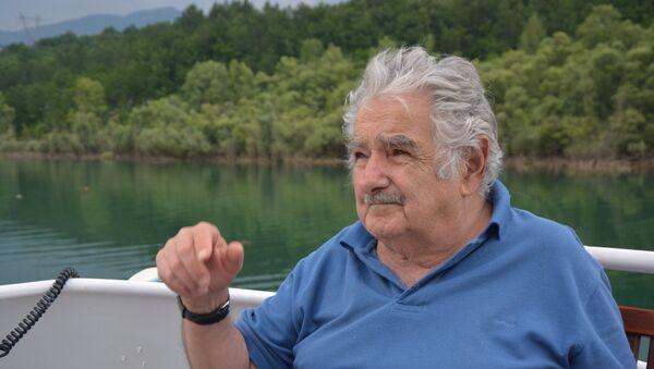Бивши председник Уругваја Хосе Мухика у Андрићграду - Sputnik Србија