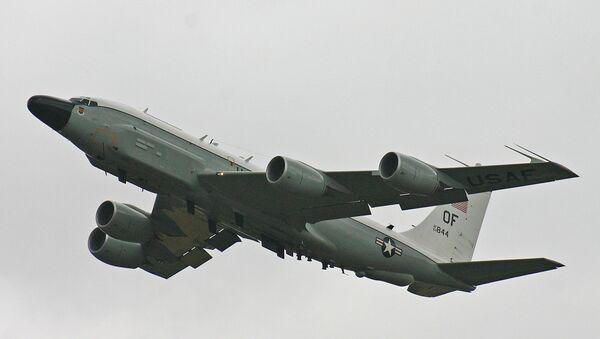 Američki strateški izviđački avion RC-135V - Sputnik Srbija