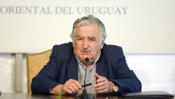 Бивши председник Уругваја Хосе Мухика - Sputnik Србија