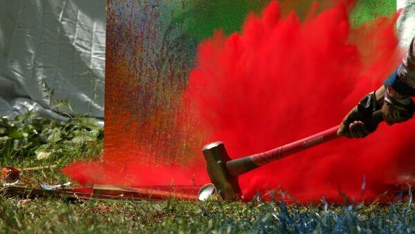Exploding Spray Paint at 2500fps - The Slow Mo Guys - Sputnik Srbija