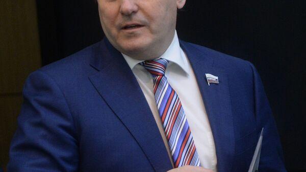 Član komiteta za međunarodnu saradnju Saveta federacije Rusije Igor Morozov - Sputnik Srbija