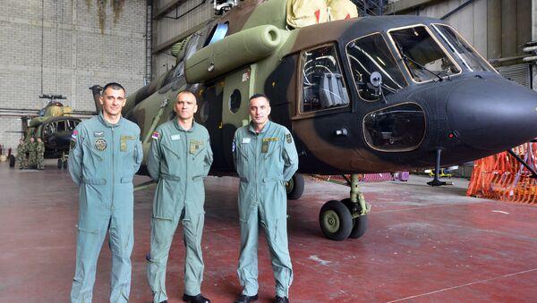 Руски хеликоптери стигли у Србију - Sputnik Србија