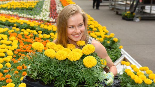 Фестивал цвећа у Гуму - Sputnik Србија