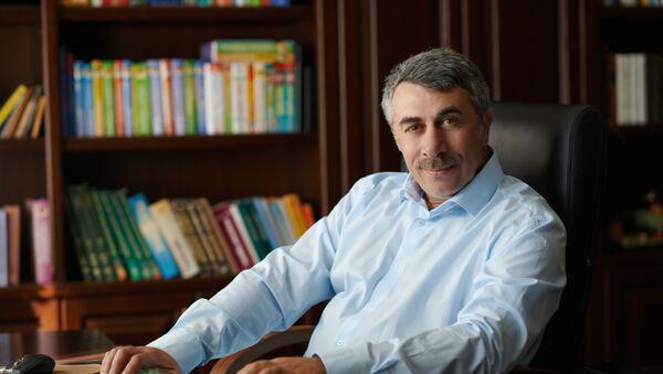 Doktor Komarovski poznat je i srpskim čitaocima. - Sputnik Srbija