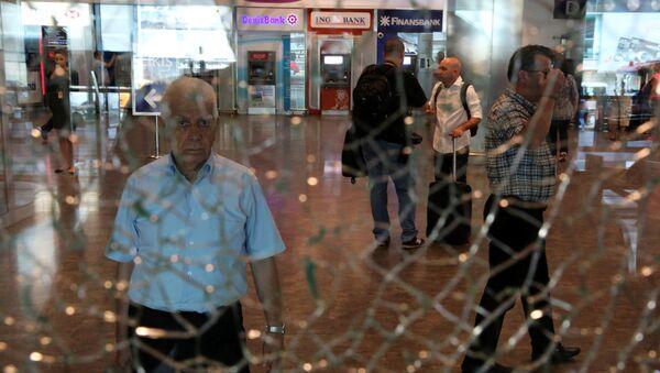 Aerodrom Ataturk, posle teroroističkog napada - Sputnik Srbija