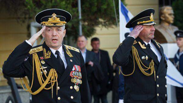 Вице-адмирал Александар Носатов на обележавању 79. годишњице Црноморске војне академије у Севастопољу - Sputnik Србија