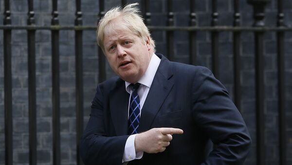 Бивши лондонски градоначелник Борис Џонсон и кандидат за будућег премијера Велике Британије - Sputnik Србија