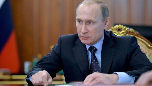 President Putin holds meeting on economic issues - Sputnik Srbija