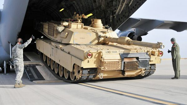 Američki tenk Abrams - Sputnik Srbija