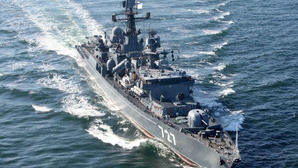 Руски патролни брод Јарослав Мудри током војних маневара у Балтичком мору - Sputnik Србија