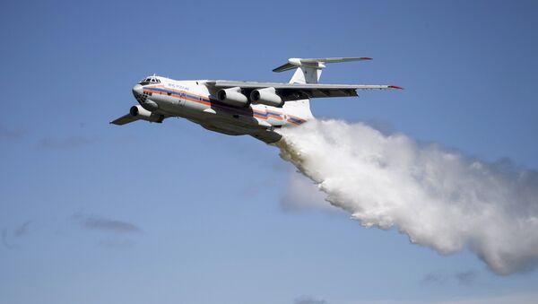 Avion Ministarstva za vanredne situacije Il-76 - Sputnik Srbija