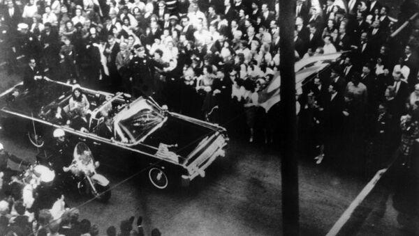 Бивши председник Америке Џон Кенеди у Даласу, 22. новембар 1963. - Sputnik Србија