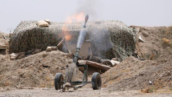 Sirijske demokratske snage bore se protiv DAEŠ-a u Raki - Sputnik Srbija