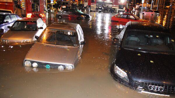 Ulice Rostova posle jakih kiša  - Sputnik Srbija