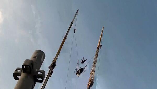 Praćka katapultira adrenalinske zavisnike u Dubaiju - Sputnik Srbija
