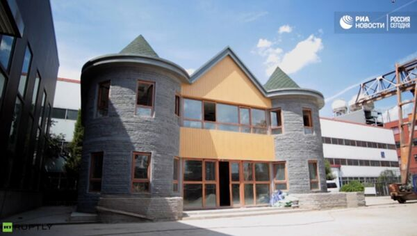 Kuća u Kini napravljena pomoću 3D štampača - Sputnik Srbija