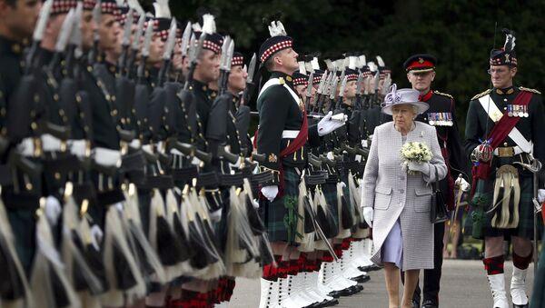 Kraljica Elizabeta u poseti Edinburgu. - Sputnik Srbija