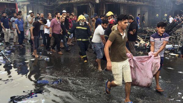 Eksplozija u Bagdadu - Sputnik Srbija