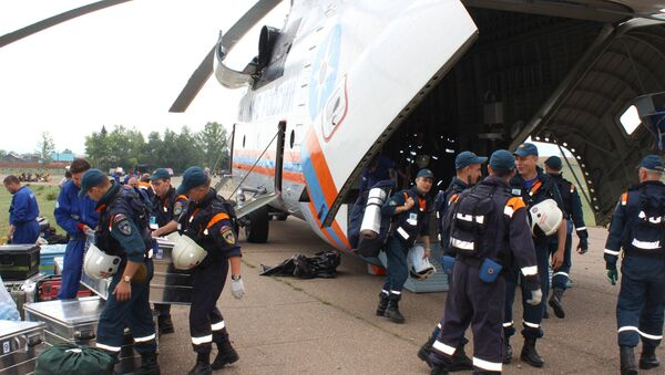 Потрага за телима након пада руског Ил-76 - Sputnik Србија