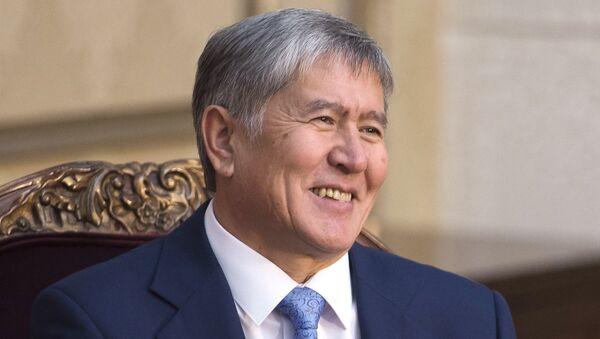 Predsednik Kirgistana Almazbek Atambajev - Sputnik Srbija