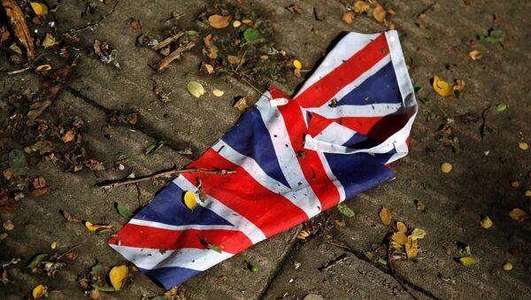 Britanska zastava na zemlji - Sputnik Srbija
