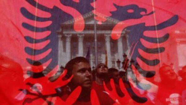 Albanska zastava - Sputnik Srbija