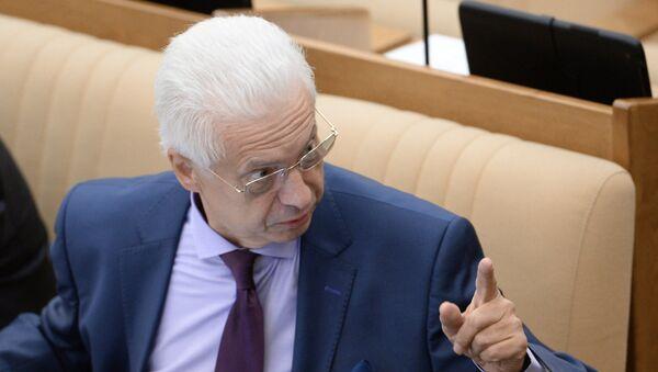 Šef ruske delegacije u Parlamentarnoj skupštini OEBS-a Nikolaj Kovaljov - Sputnik Srbija
