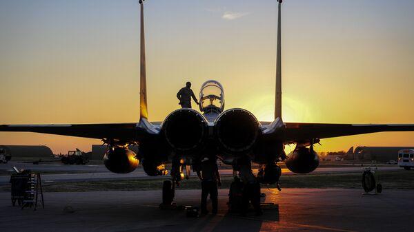 Амерички авион Ф-15 страјк игл у Турској бази Инџирлик - Sputnik Србија