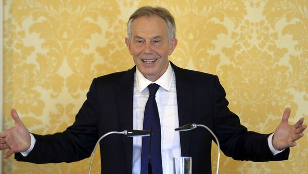 Бивши Британски премијер Тони Блер - Sputnik Србија