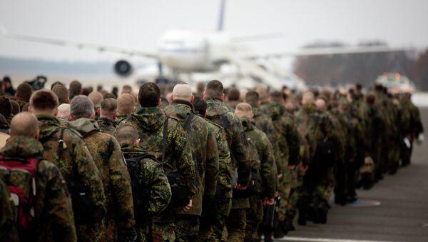 240 војника немачког Бундесвера допремају Патриот ракете у Турску. - Sputnik Србија