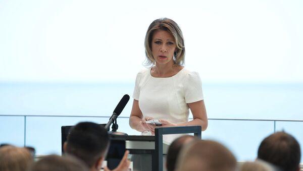 Zvanična predstavnica Ministarstva inostranih poslova Rusije Marija Zaharova - Sputnik Srbija
