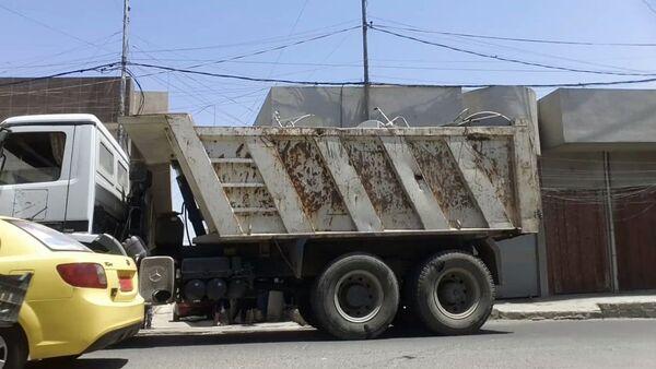 Kamion sa satelitskim tanjirima - Sputnik Srbija
