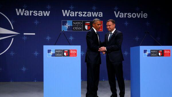 BARAK Obama i Andžej Duda - Sputnik Srbija