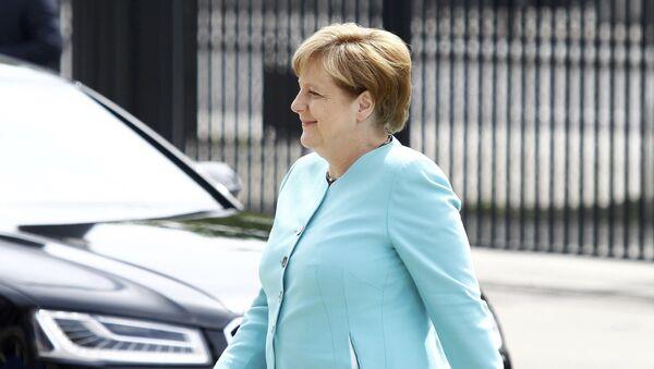 Nemačka kancelraka Angela Merkel na Samotu NATO-a u Varšavi - Sputnik Srbija