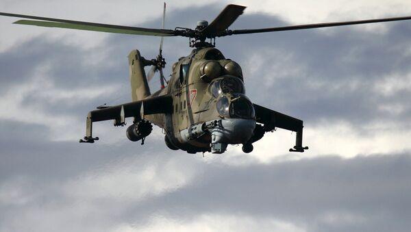 Руски хеликоптер Ми-24 - Sputnik Србија
