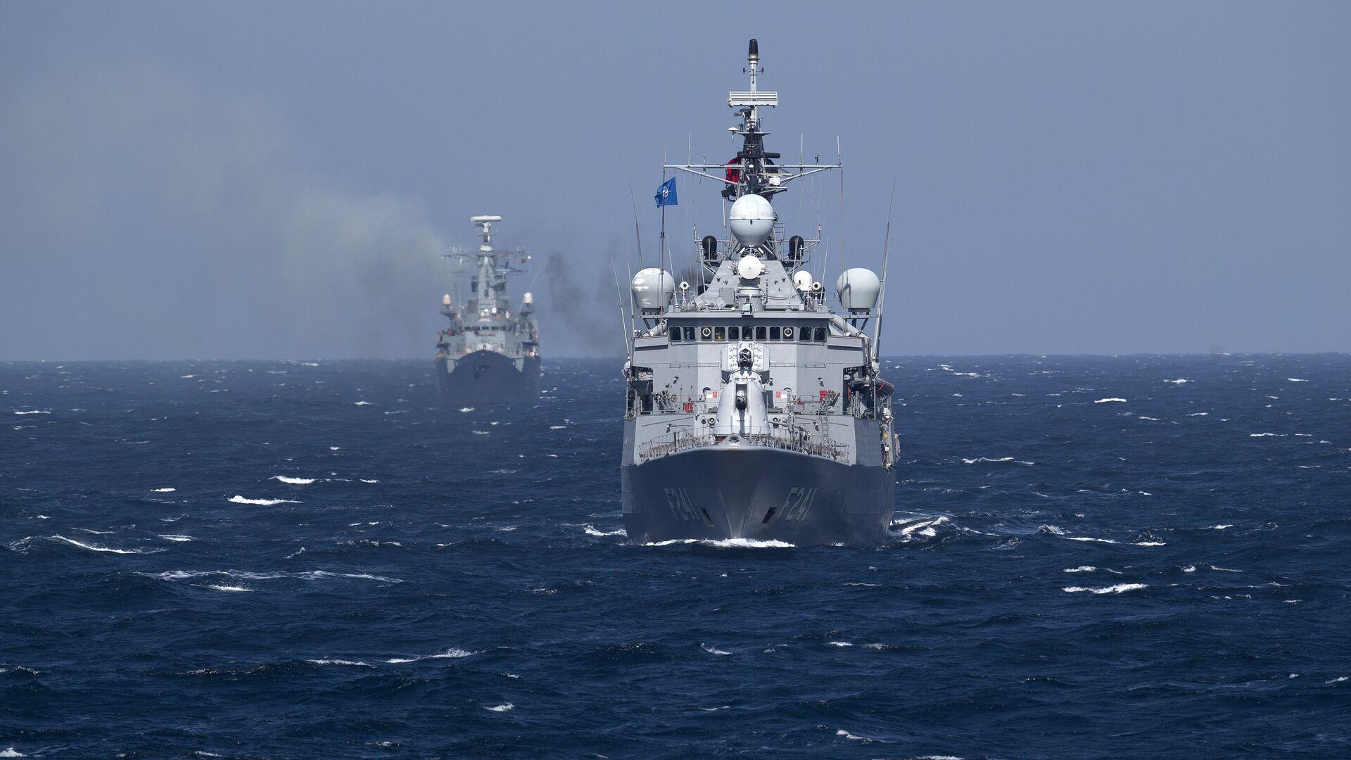 """Турски НАТО војни брод """"Тургутреис"""" у Црном мору - Sputnik Србија, 1920, 28.09.2021"""