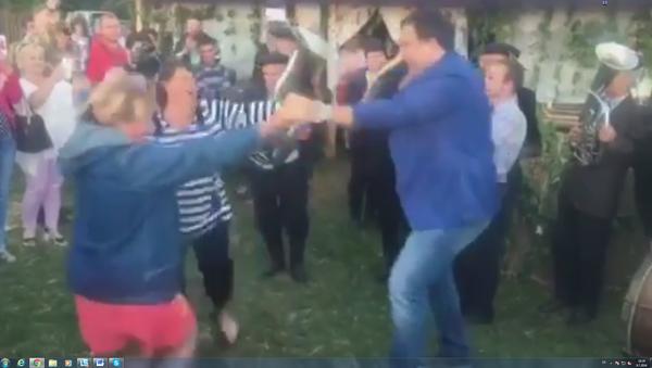 Сакашвили плеше на празник Ивана Купале - Sputnik Србија