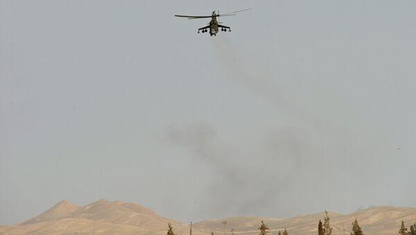 Helikopter Mi24 u blizini Palmire - Sputnik Srbija