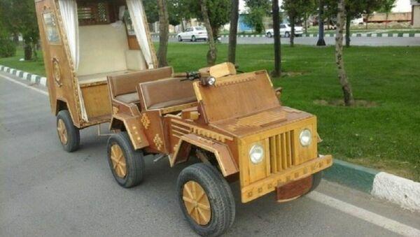 Дрвени аутомобил - Sputnik Србија
