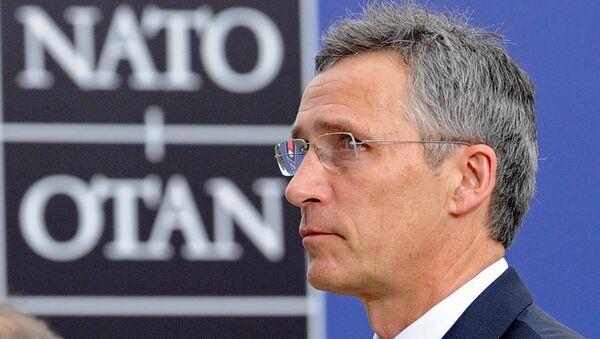 Генерални секретар НАТО-а Јенс Столтенберг долази на заседање другог дана Самита НАТО-а у Варшави у Пољској. - Sputnik Србија