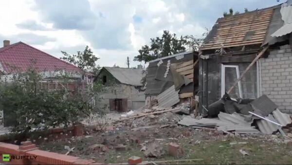 Последице гранатирања Горловке - Sputnik Србија