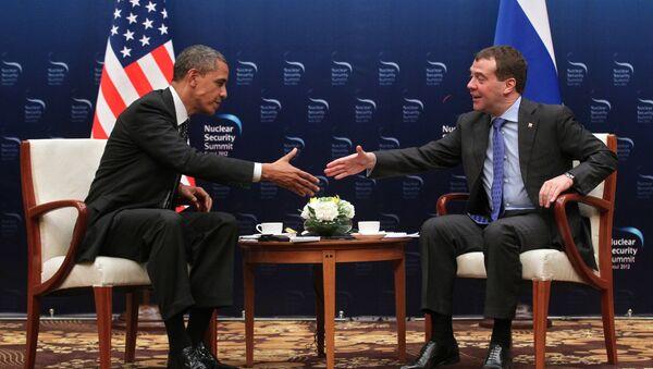 Barak Obama i Dmitrij Medvedev - Sputnik Srbija
