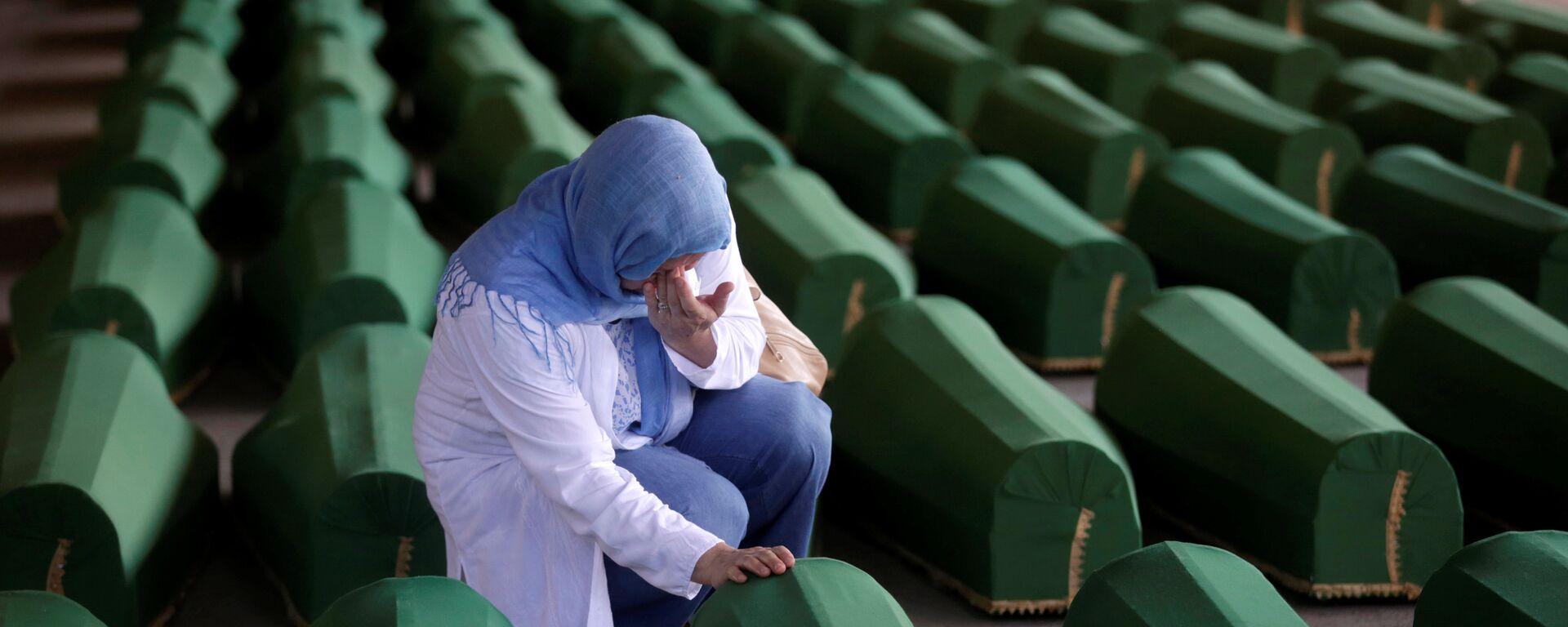 Обележавање 21. године злочина у Сребреници 11.07.2016.  - Sputnik Србија, 1920, 22.07.2021