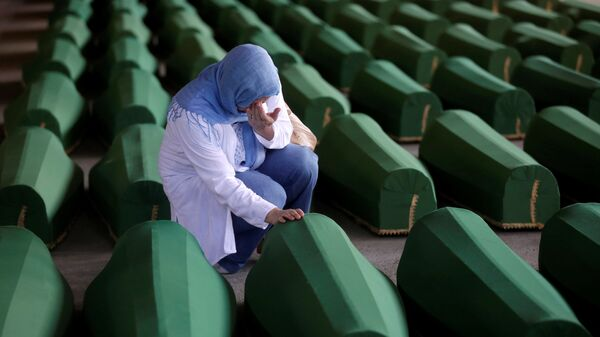 Obeležavanje 21. godine zločina u Srebrenici 11.07.2016.  - Sputnik Srbija